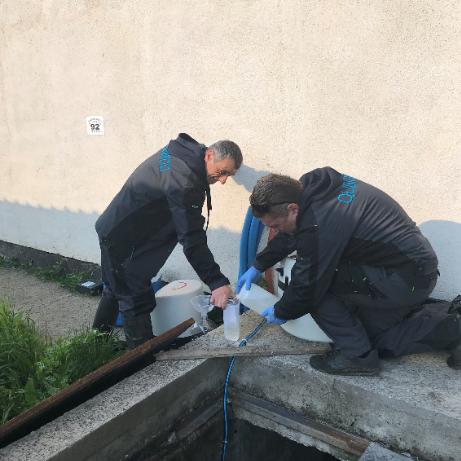 Измерване на ниво на подпочвената вода