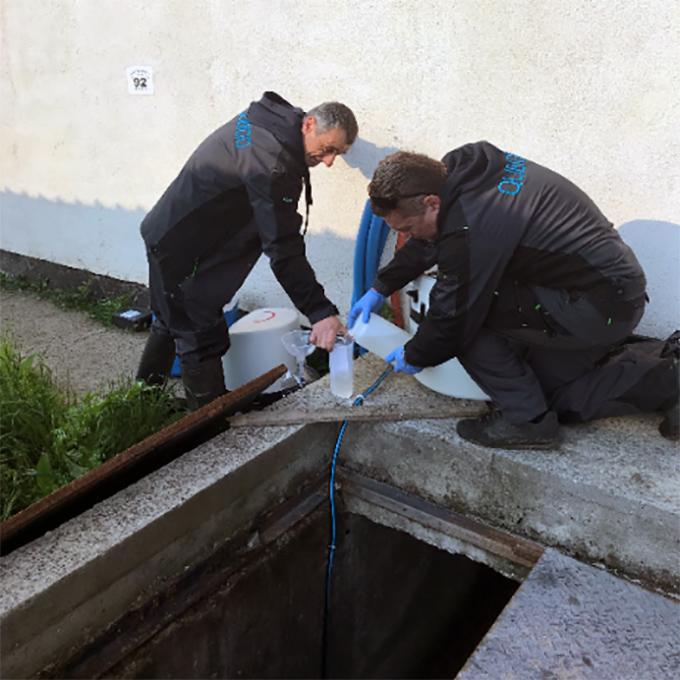Специалисти пробовземачи от канализация на Qubiqo