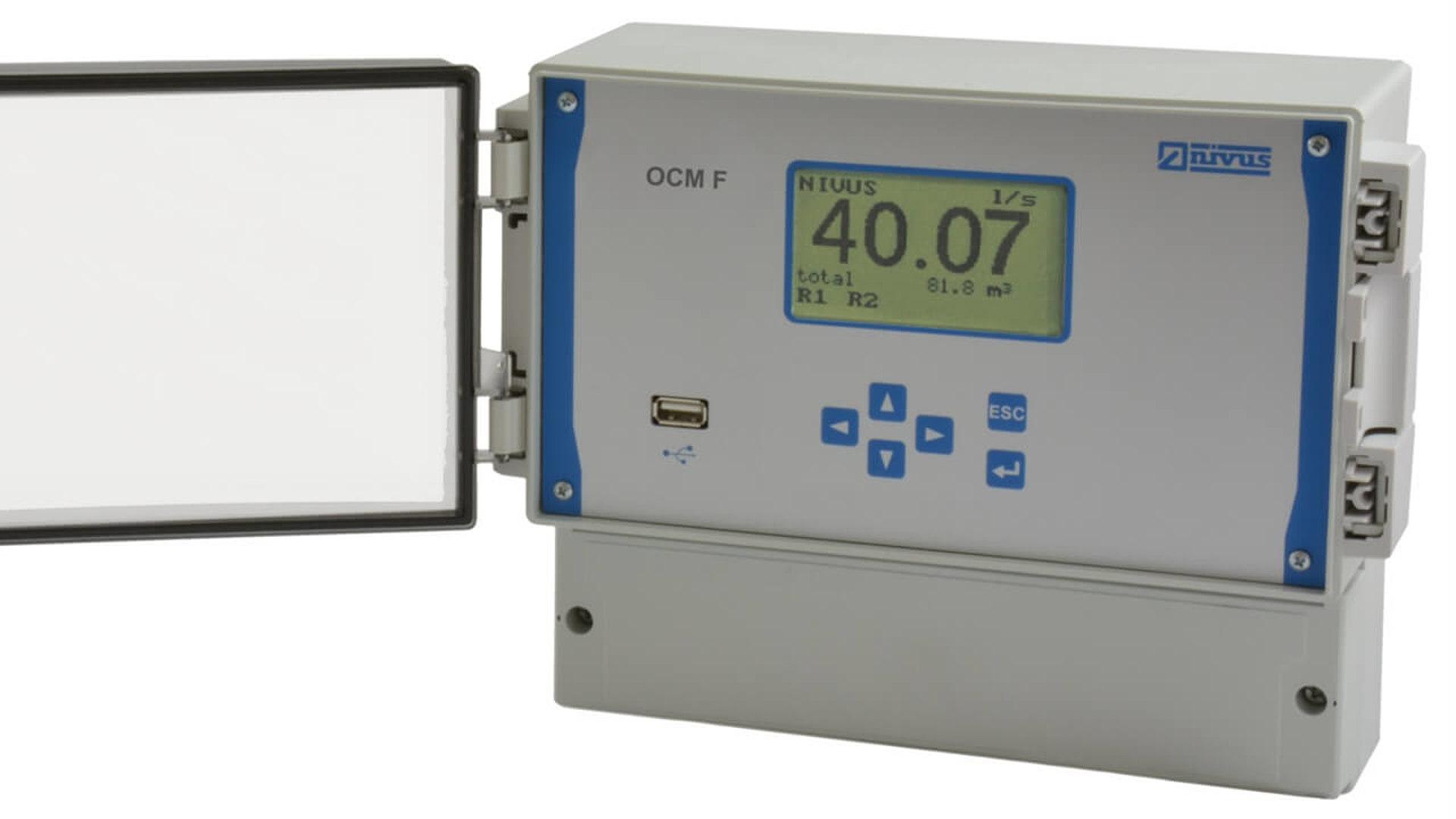 Ултразвуков разходомер за безнапорни течения OCM F Image